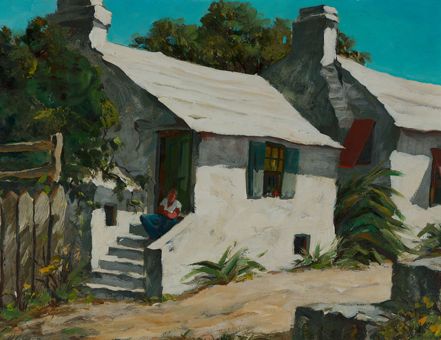 , 'Houses by the Lane, Bermuda,' , Questroyal Fine Art