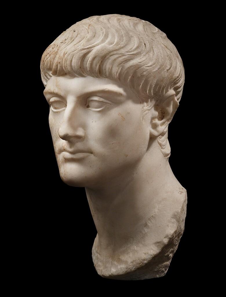 ANCIENT ROMAN PORTRAIT OF AN ARISTOCRAT