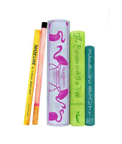 , 'A Little Girl's Bookshelf ,' , ArtStar
