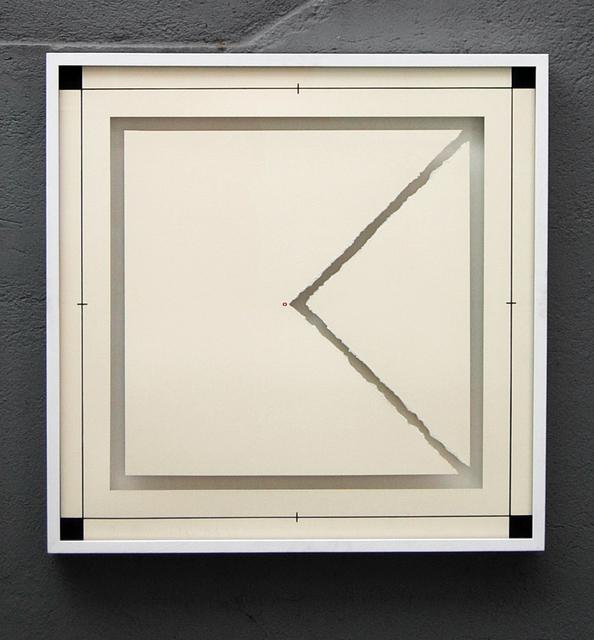 Anna Maria Maiolino, 'Triangulo no Quadrado (Triangulo in the Square), from the Desenhos Objetos (Drawing Objects) series', 1974/2011, Hauser & Wirth