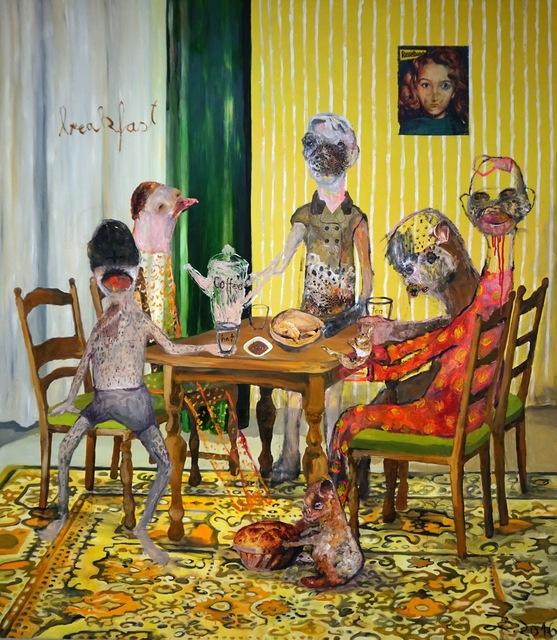 , 'Breakfast No.7,' 2016, Knight Webb Gallery