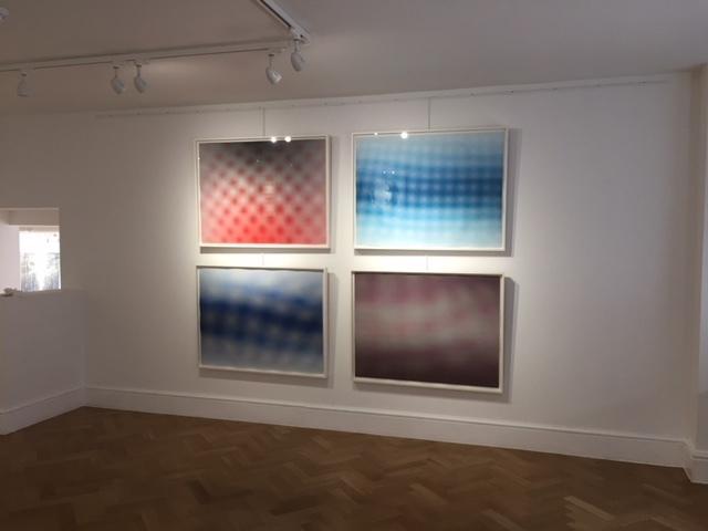 , 'Moire 1-4 (set of 4 etchings),' 2015, Reuben Colley Fine Art