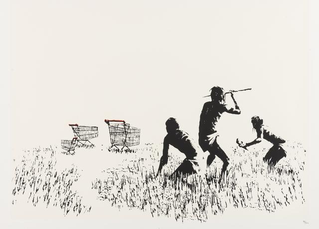 Banksy, 'Trolleys (LA Edition)', 2007, Forum Auctions