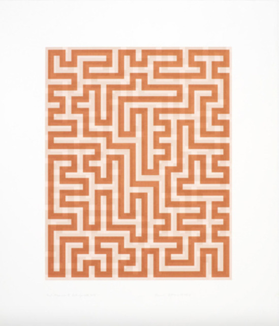 Anni Albers, 'Red Meander II', 1970, Upsilon Gallery