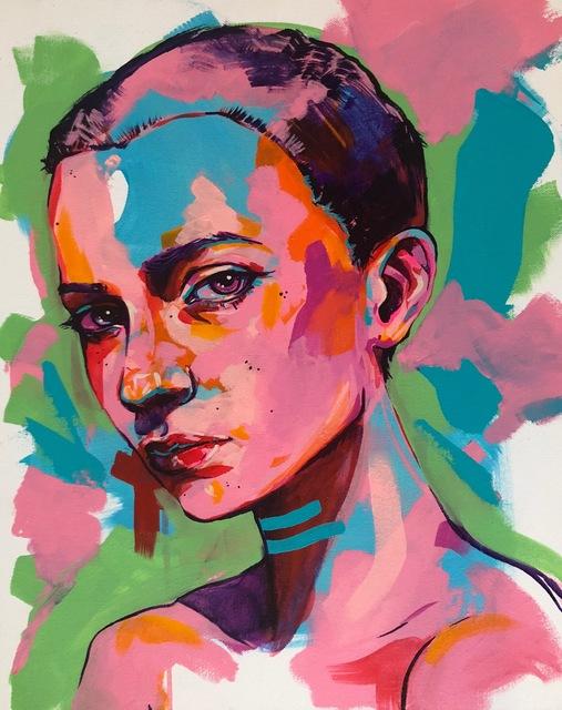 , 'Riley,' 2018, Art Attack SF