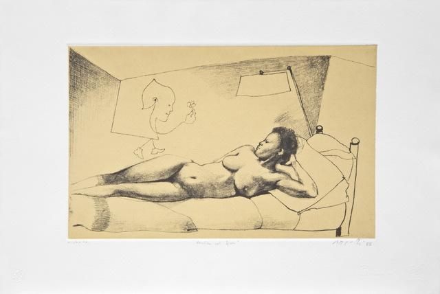 , 'Veniva col fiore /  He came with the flower,' 1985, Galleria Edarcom Europa