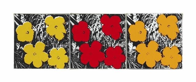 Andy Warhol, 'Flowers', Each: 8 x 8 in. (20.3 x 20.3 cm.), Christie's