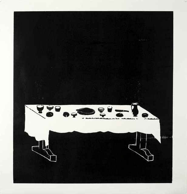 , 'Table,' 2010, Collezione Maramotti