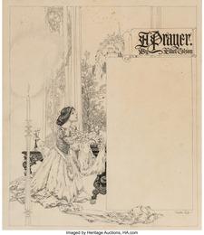 A Prayer, interior magazine illustration