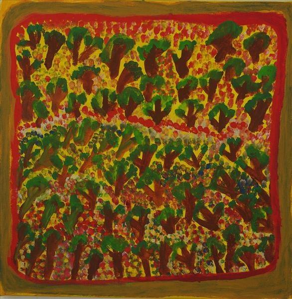 , 'Kurrmalyi - Trees + Flowers,' 2011, Rebecca Hossack Art Gallery