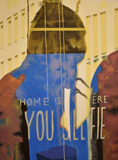 , 'Home is Where You Selfie,' 2018, Carter Burden Gallery