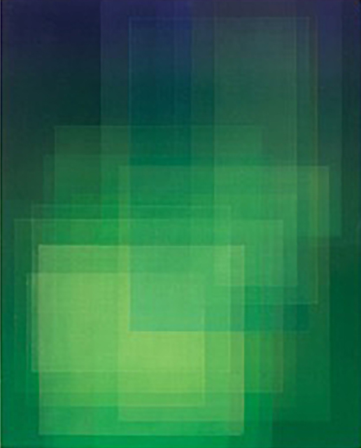 , 'Migrant (Green),' 2018, Dolby Chadwick Gallery