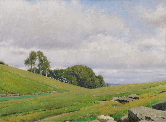 , 'From the parish garden in Aflenz,' 1937, Galerie Kovacek
