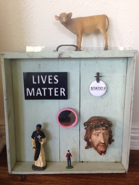 Forrest Prince, 'Lives Matter', 2017, Installation, Found Objects, Deborah Colton Gallery