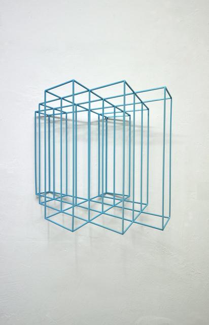 Paolo Cavinato, 'Wing #3 (metallic light blue)', 2019, The Flat - Massimo Carasi