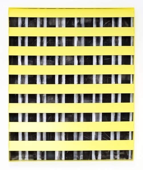 Johannes Wohnseifer, 'Nisennenmondai #2', 2015, Painting, Acryl Lack Scotchlite auf Leinwand Aluminium pulverbeschichtet RAL 1018, Galerie Elisabeth & Klaus Thoman