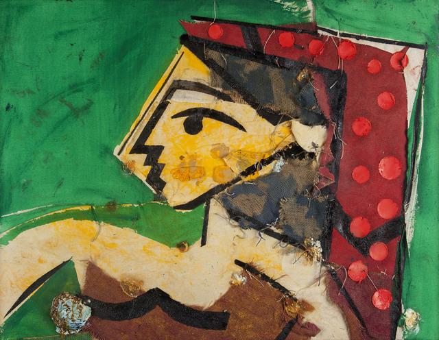 , 'Perfil de Mujer Verde,' 2006, Galería La Cometa