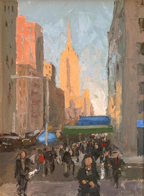 , '5th Avenue Bustle,' 2016, Grenning Gallery