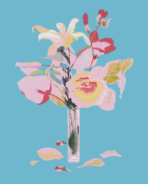 , 'je t'aime en sarcelle,' 2016, Diane Rosenstein