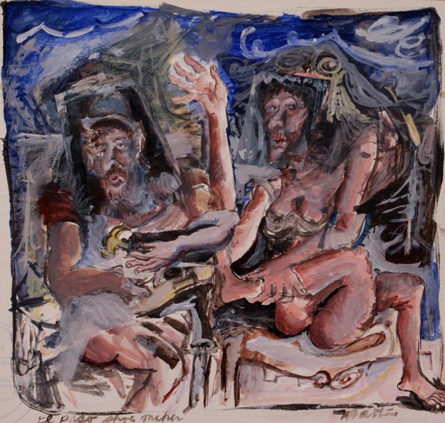 James Martin, 'El Paso Shoe Maker', ca. 1980, Foster/White Gallery