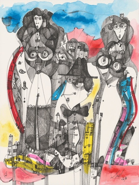 Luka Brase, 'Luka's muses', ca. 2018, E-Moderne Gallerie