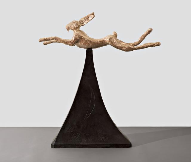 , 'Moon Gold Hare,' 2008, Waddington Custot