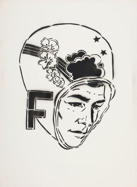, 'F Head,' 2002, DETOUR Gallery