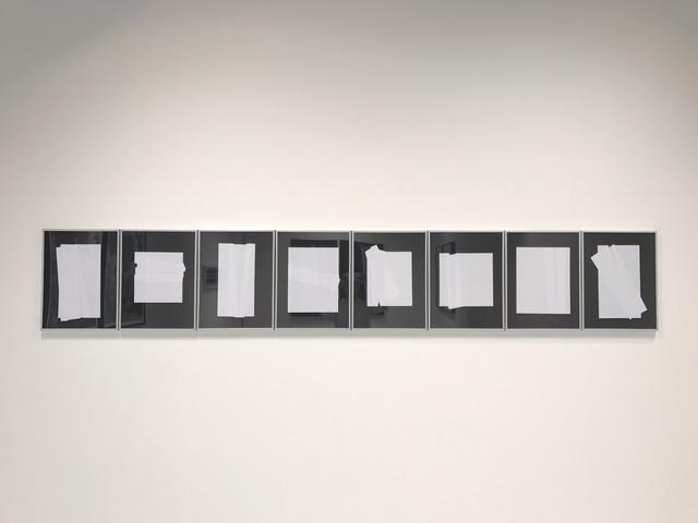 , 'The Fold - Flat Series,' 2017, Galerie Huit