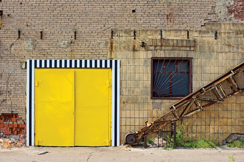 Daniel Buren 21 Doors = 21 Colours, 2012