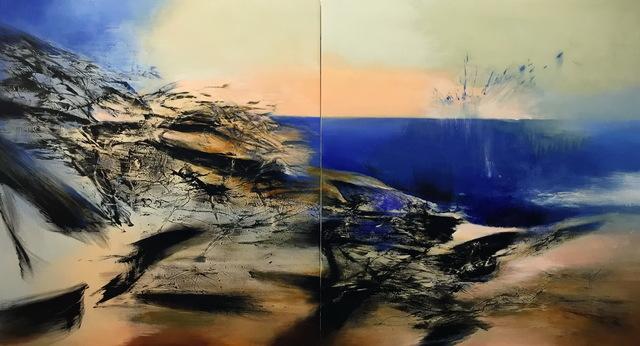 Yang Chihung 楊識宏, 'Symphonia - La Mer 交響詩-海 ', 2015, Asia Art Center