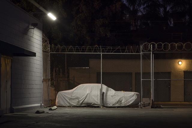 , 'Sleeping Car, Santa Monica Boulevard,' 2013, Fahey/Klein Gallery