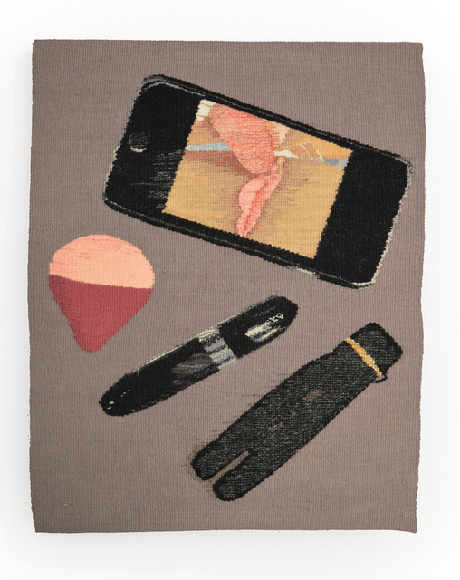 Erin M. Riley, 'Rub Fuck', 2016, Textile Arts, Hand woven wool tapestry, Tom of Finland Benefit Auction