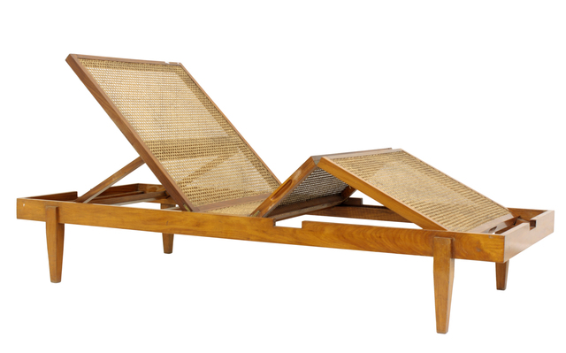 , 'Chaise Longue in Peroba wood and cane,' ca. 1960, Legado Arte