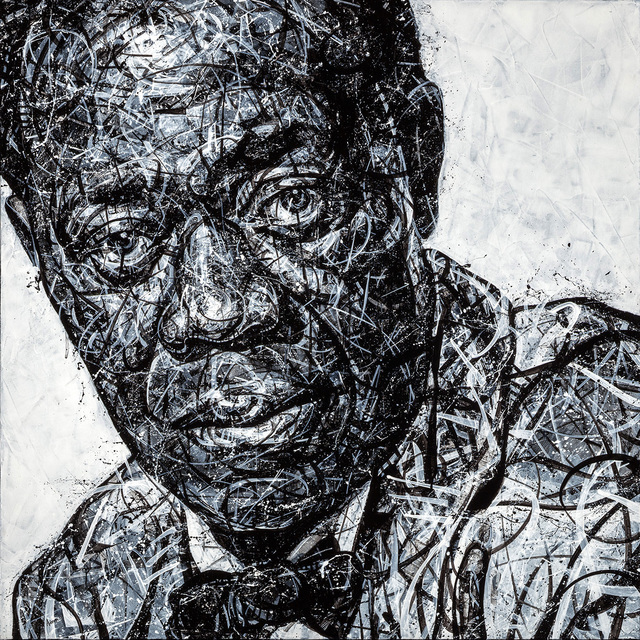 , 'Louis Armstrong,' 2018, Angela King Gallery