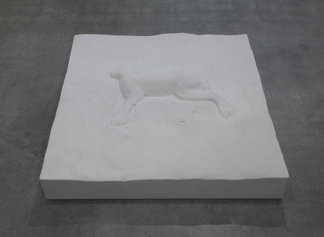 , 'Lepre e manto di neve,' 2014, SPROVIERI
