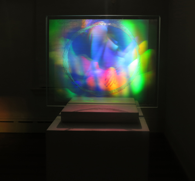 Fred Unterseher, 'Roll With It', 2017, Other, Dichromate gelatin embedded in glass, Wallplay