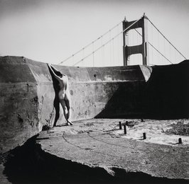 Nude at the Golden Gate, San Francisco
