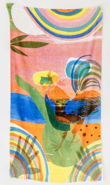 , 'Untitled (Sunset Gallo),' 2017, Tile Blush