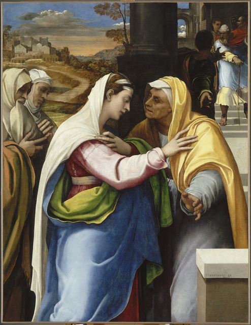 , 'The Visitation,' 1518-1519, The National Gallery, London