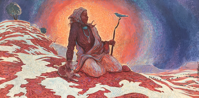 Shonto Begay, 'Peaceful Eve ', 2016, Modern West