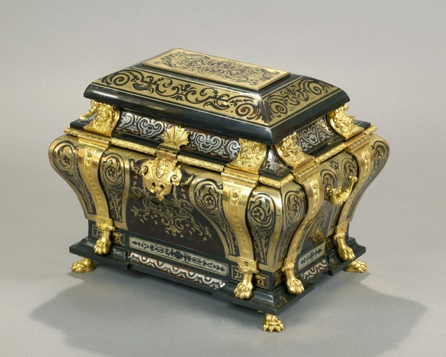 , 'An exceptional Louis XIV Boulle marquetry combination casket with chased, pierced and giltbronze mounts,' , Kraemer Gallery - Paris
