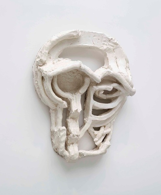 , 'Roman Masks III,' 2013, Gagosian