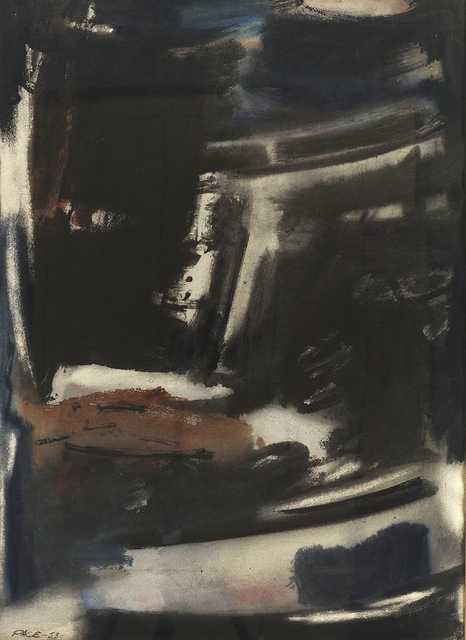 , 'Rocky Coast (53-W1),' 1953, Berry Campbell Gallery