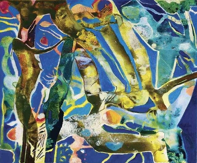 , 'November Blue,' 2017, Catto Gallery