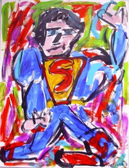 Helder Batista, 'Superman ', 2018, Kreislerart