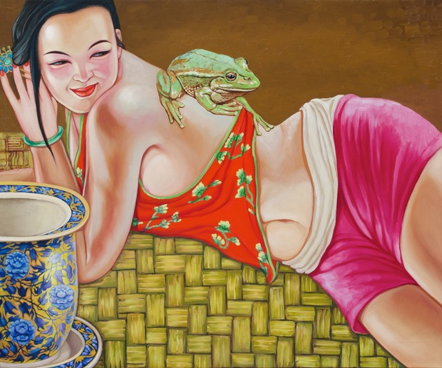 , 'Jade Frog,' 2014, Wentworth Galleries
