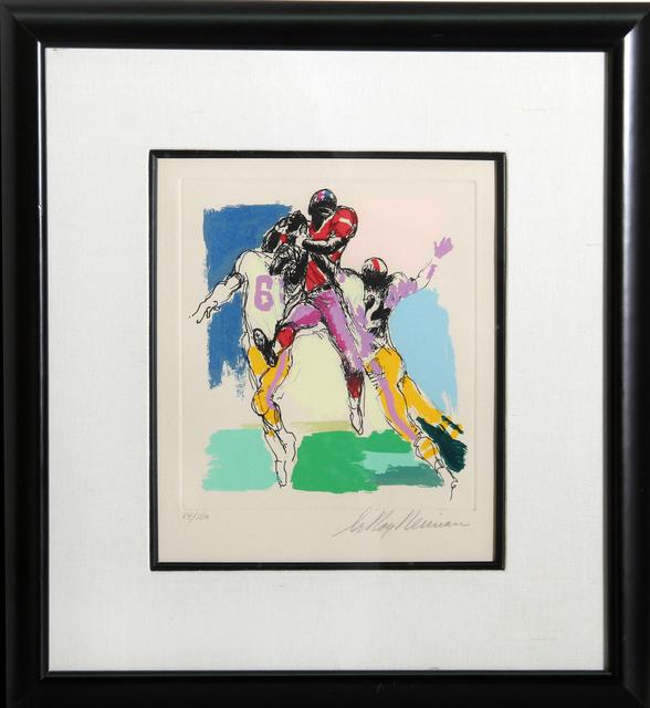 LeRoy Neiman, 'Receiver', 1972, RoGallery
