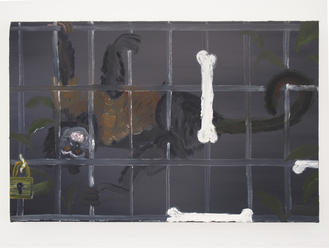 , 'Grids, as a system, which restrain and make laughter,' 2016, Yautepec