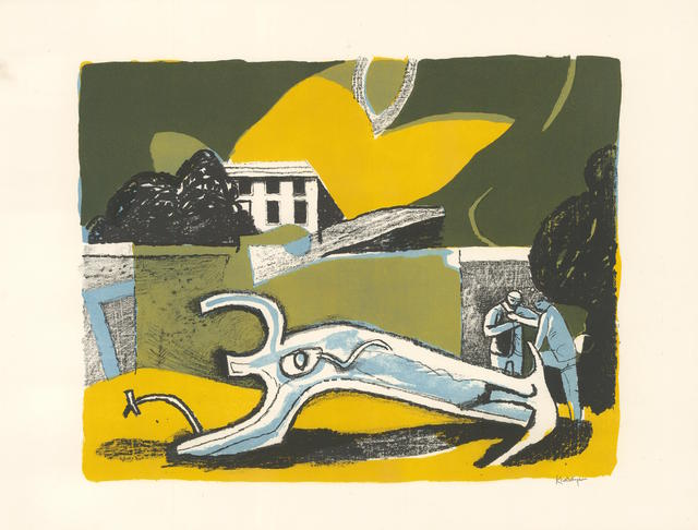 , 'The Walled Garden,' 1951, Redfern Gallery Ltd.