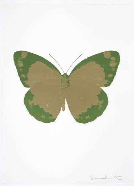, 'The Souls II - Cool Gold/Leaf Green/Blind Impression,' 2010, Paul Stolper Gallery